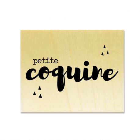 Rubber stamp - Gwen Scrap Collection 2- petite coquine