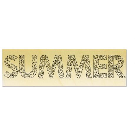 Rubber stamp - Gwen Scrap Collection 3 - SUMMER origami style
