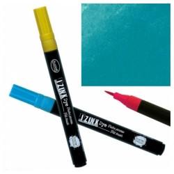 Feutre pinceau aquarellable Izink Dye - Pétrole