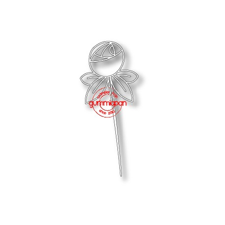 Die Gummiapan - Fleur en bouton
