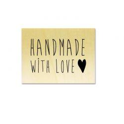 handmade with love heart