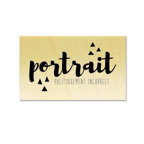 Rubber stamp - Gwen Scrap - Portrait Politiquement Incorrect