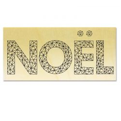 Rubber stamp - Gwen Scrap Collection 5 - NOEL origami