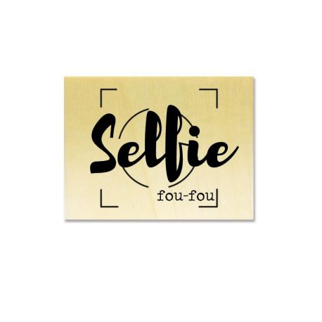 Rubber stamp - Gwen Scrap Collection 2- Selfie fou-fou