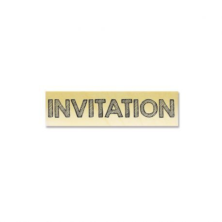 Gwen Scrap collection 3 - INVITATION
