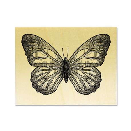 Rubber stamp - Butterfly 2