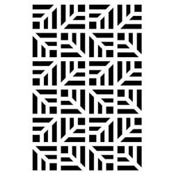 Pochoir Artemio - Fond géométrique