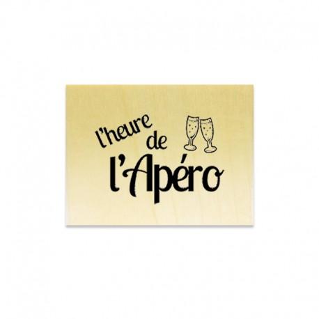 Rubber stamp - L'heure de l'Apéro