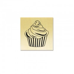 Rubber stamp - Cupcake