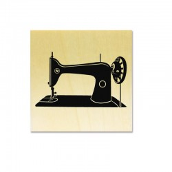 Rubber stamp - Sewing Machine