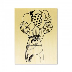 Rubber stamp - Clémence G : Ours Ballon