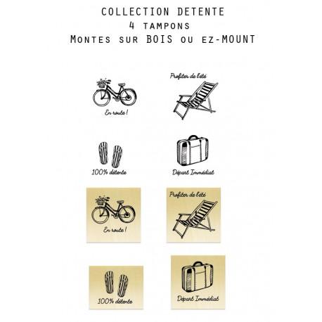 Collection Détente - 4 Tampons