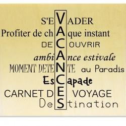 Rubber stamp - Scrapanescence 4 - Cadre texte poisson