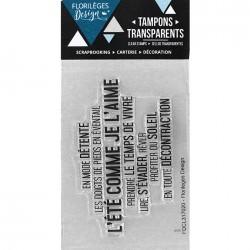 Tampons Clear Florilèges Design - En toute décontraction