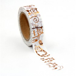 Masking Tape Foil Tape - Chats cuivre