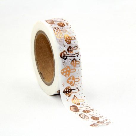 Masking Tape Foil Tape - Champignons cuivre