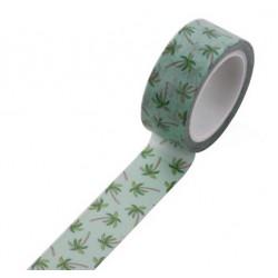 Masking Tape - Ananas fond bleu