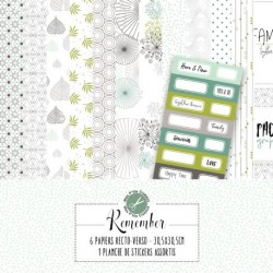 Collection Remember 6 feuilles - Mes Ptits Ciseaux