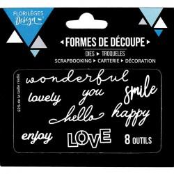 Die Florilèges Design - Wonderful Love