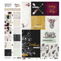 Florilèges Design - Collection Papiers Gypsy Forest