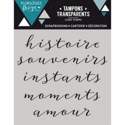 Tampon Clear Florilèges Design - Petits mots 2