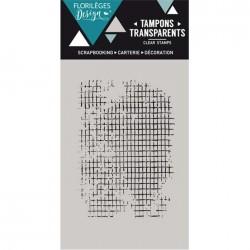 Tampon Clear Florilèges Design - Mini Trame