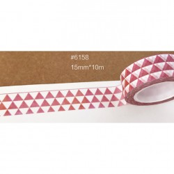 Masking Tape - triangles rouges passé