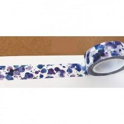 Masking Tape - Tâches d'encre bleue