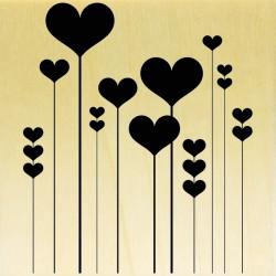 COLLECTION - Des Coeurs - Coeurs Tiges Droites
