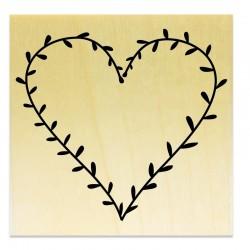 COLLECTION - Des Coeurs - Coeur en Feuilles