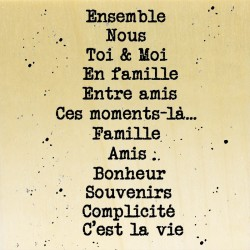 COLLECTION - Mots du Quotidien - Mots sentiments
