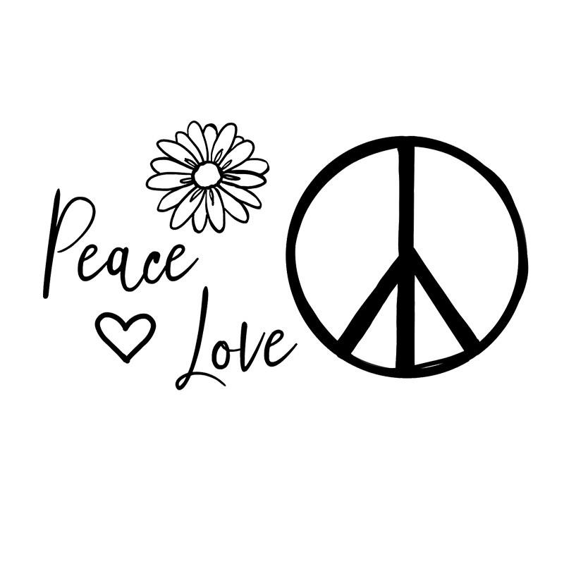 Tampons flamingo design studio - Dessin peace and love ...