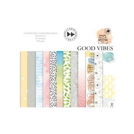 Collection Studio Forty - Good vibes - 6 papiers