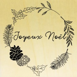 COLLECTION - Boho Season (Automne 2018) - Couronne Joyeux Noël