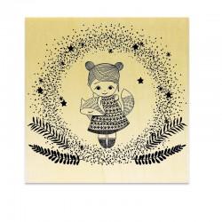 Rubber stamp - Cactus 02