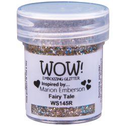 Poudre à embosser Wow - Fairy Tale - Or et Holographic (Paillettes)