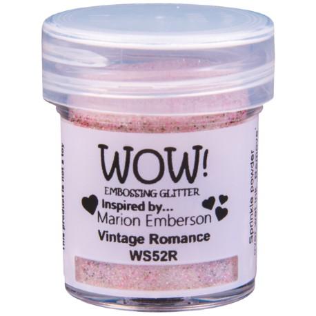 Poudre à embosser Wow - Vintage Romance (Rose Paillettes)