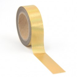 Solo Foil Tape - Navy deer on copper background