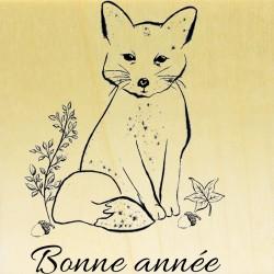 COLLECTION - Animaux des Bois - Renard Bonne Année
