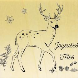 COLLECTION - Animaux des Bois - Biche Joyeuses Fêtes