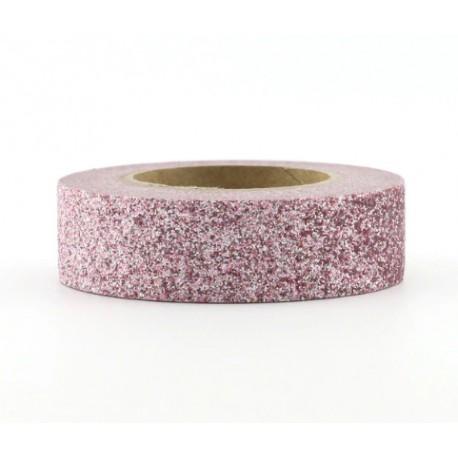 Masking Tape Paillettes - Rose