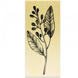 COLLECTION - Histoire de Fleurs - Branche Feuille Baie