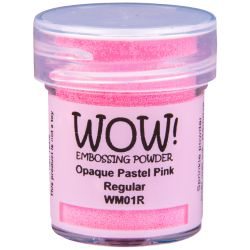 Poudre à embosser Wow - Opaque Paste Pink - Rose pastel