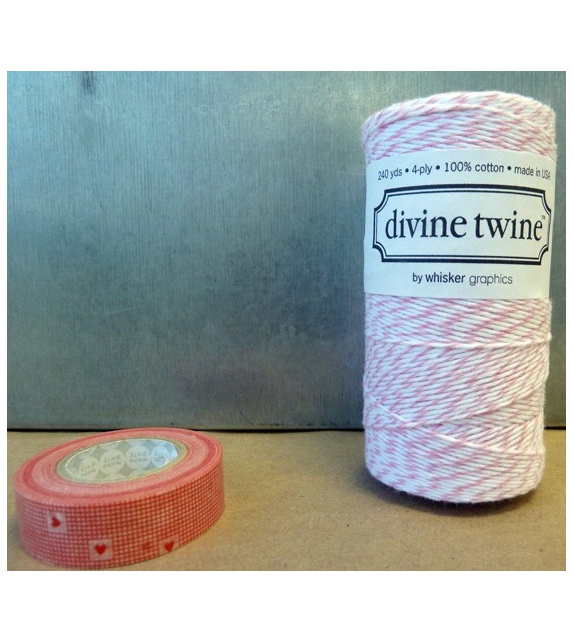 Maxi Spool - Divine Twine Cotton Candy Pink