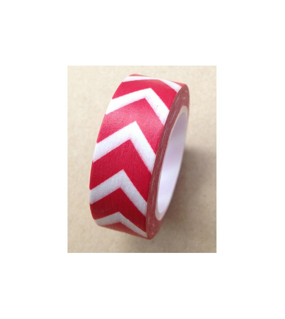 Masking Tape - Chevrons Flèches Rouges