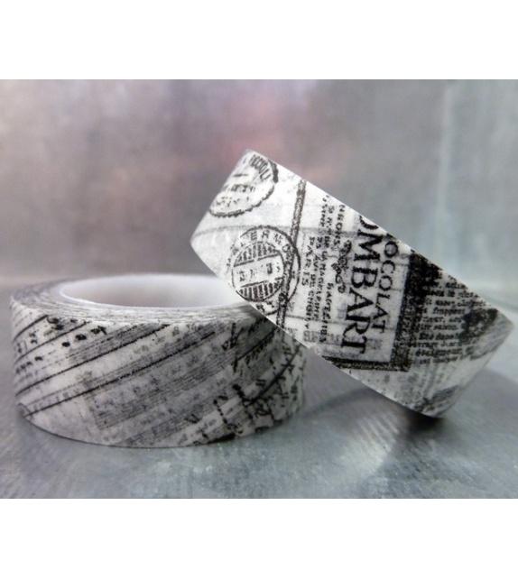 Masking tape - Journal noir