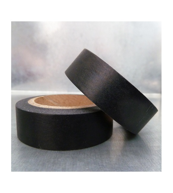 Masking Tape uni - noir