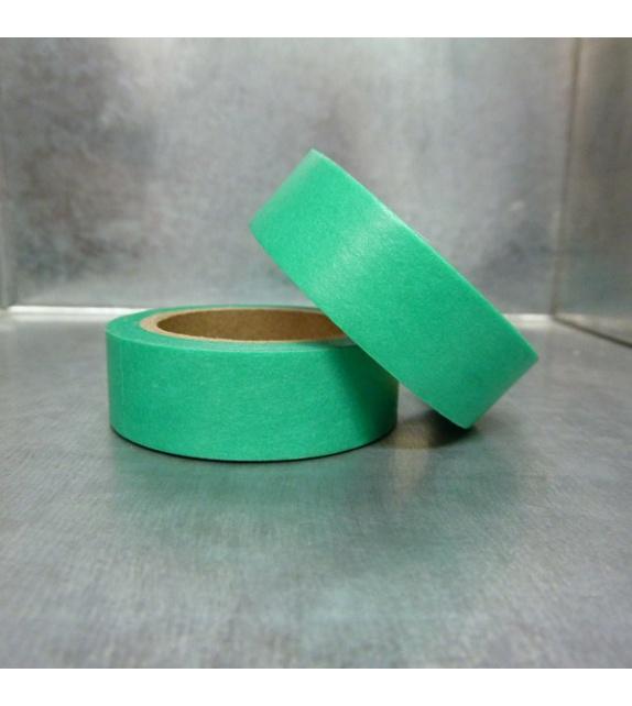 Masking Tape uni - Vert Emeraude