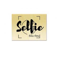 Rubber stamp - Gwen Scrap Collection 2- Selfie fou-fou