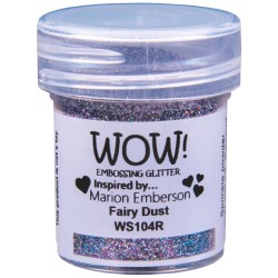 Poudre à embosser Wow - Fairy Dust - Argent (Paillettes)